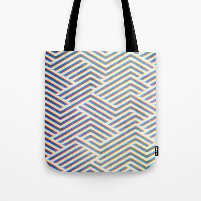 3D Labyrinth Tote Bag