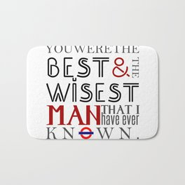The Best And Wisest Man [Sherlock] Bath Mat
