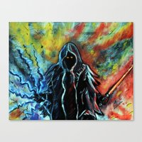 sith Canvas Prints featuring Sith by MSG Imaging