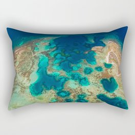 Colours of the Reef Rectangular Pillow
