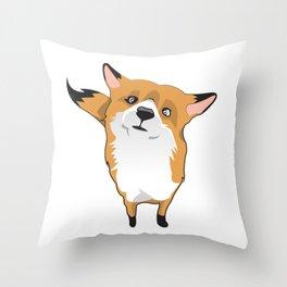 Cuty Fox Throw Pillow
