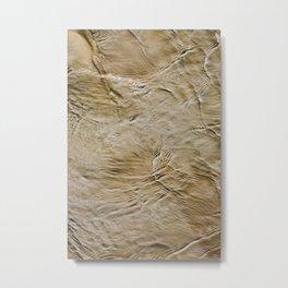Sand + Water Metal Print