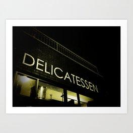 Delicatessen Art Print