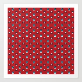 doggone it (red) Art Print