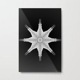 Ninja Star 9 Metal Print
