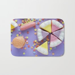 Purple Gummy Candy Bath Mat