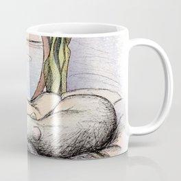 Nap Time, Illustration Coffee Mug