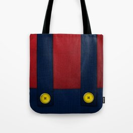 Video Game Poster: Plumber Tote Bag