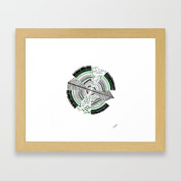 Age, Cells, and Pi Framed Art Print