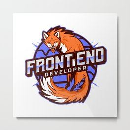 THE Front End Developer Metal Print