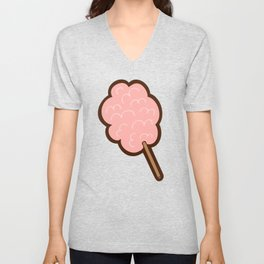 Cotton Candy Pattern Unisex V-Neck