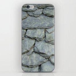 Roof stones iPhone Skin