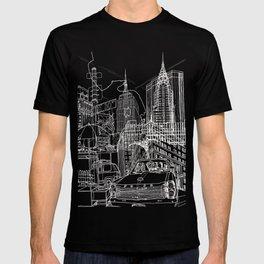 New York B&W (Dark T-shirt Version) T-shirt