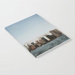 Skyline Upper Bay Sunset | Colourful Travel Photography | New York City, America (USA) Notebook