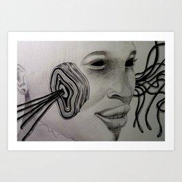 HELAIK /////// Art Print