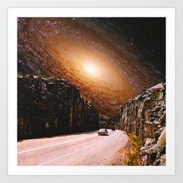 Road To The Galaxy Art Print