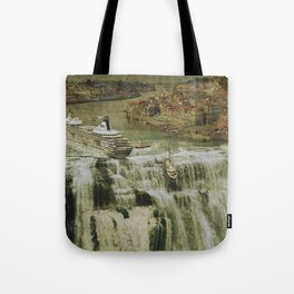 The Edge of the World Tote Bag