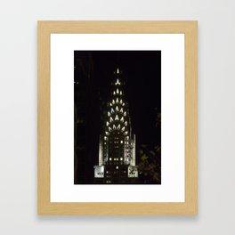 chrysler building 2 Framed Art Print