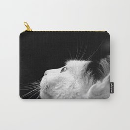 Black & White Cat Carry-All Pouch