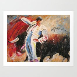 2010 Toro Acrylics 04 Art Print
