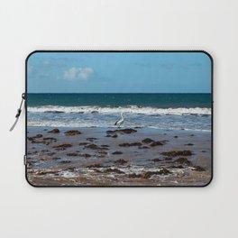 Pelican Standing in Encounter Bay Laptop Sleeve
