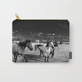 Roaming Mustangs 1 Carry-All Pouch