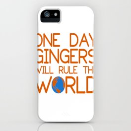 gingers iPhone Case