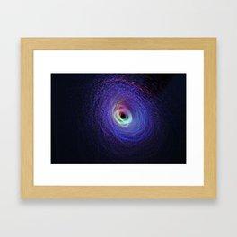 Light show III (original) Framed Art Print