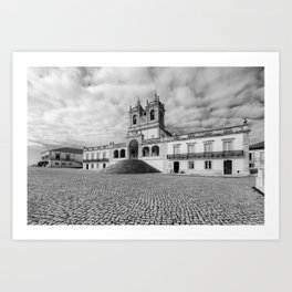 Sanctuary of Our Lady of Nazare Art Print
