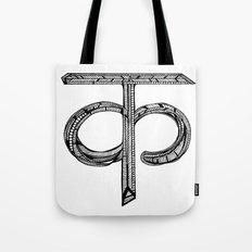 Hindi Alphabet C/K Tote Bag