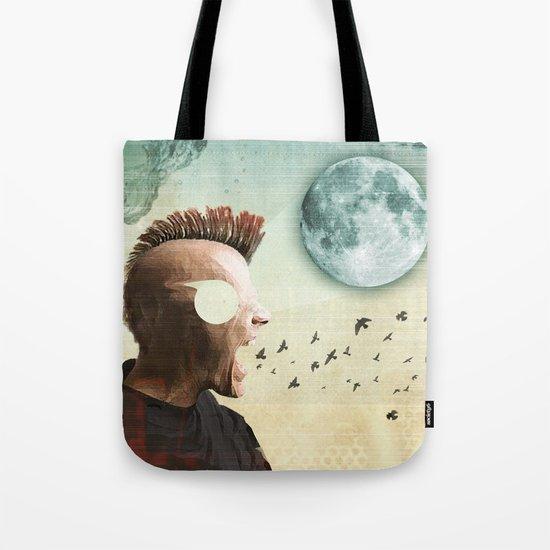 luna mohawk  Tote Bag