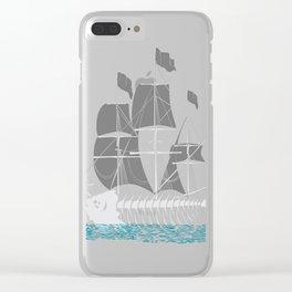 Cutter-Fish Clear iPhone Case