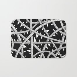 Cords and Spikes Bath Mat
