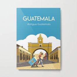 Antigua Guatemala Metal Print