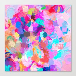 Candy Shop #painting Canvas Print