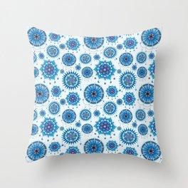 Mandala dream catchers Throw Pillow