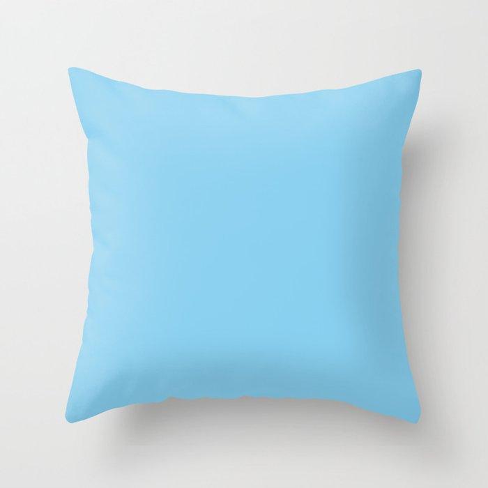Baby Blue Throw Pillow By Alexandra Arts Society6