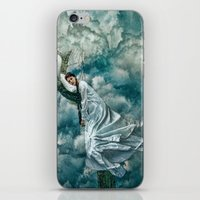 sleep iPhone & iPod Skins featuring Sleep by Spoken in Red