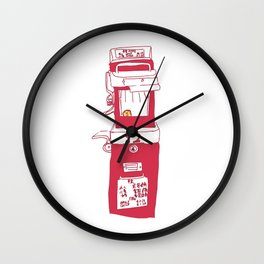 HONG KONG TRAM Wall Clock