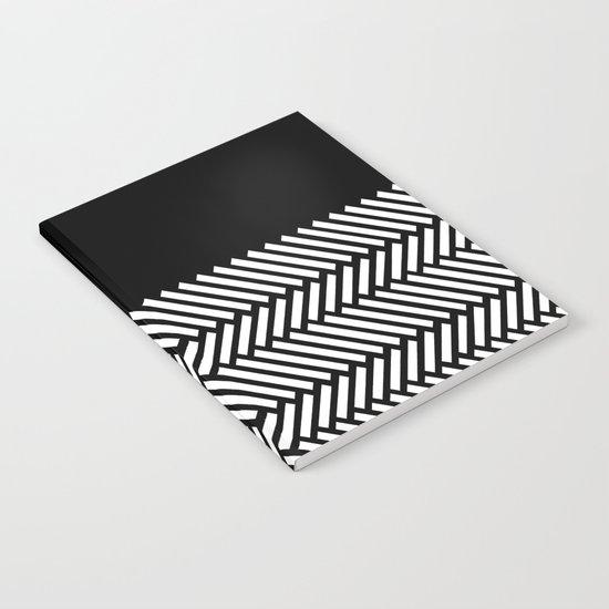 Herringbone Boarder Notebook