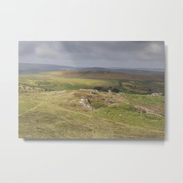 View from the Tor Metal Print