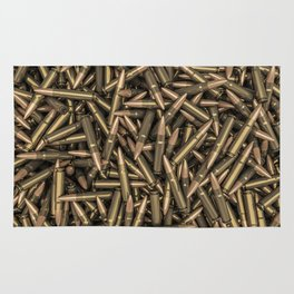 Rifle bullets Rug