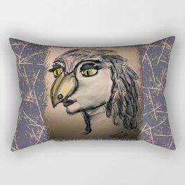 BIRDWOMAN Rectangular Pillow