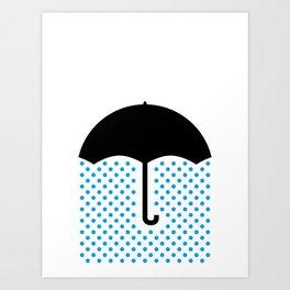 No Luck Art Print