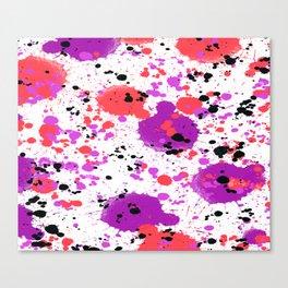 Splashed! Colour explosion Canvas Print