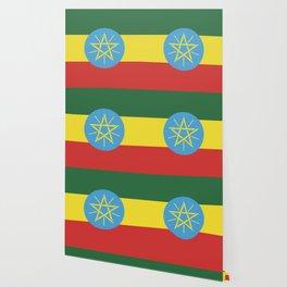 Ethiopia flag emblem Wallpaper