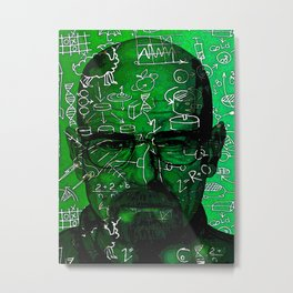 Walter White:  I AM THE DANGER Metal Print