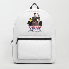 Geng Threat Level Midnight Backpack