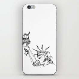 the lady I iPhone Skin