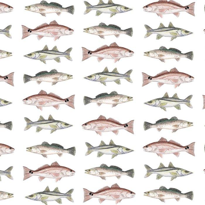 Pattern: Inshore Slam ~ Redfish, Snook, Trout by Amber Marine ~ (Copyright 2013) Leggings